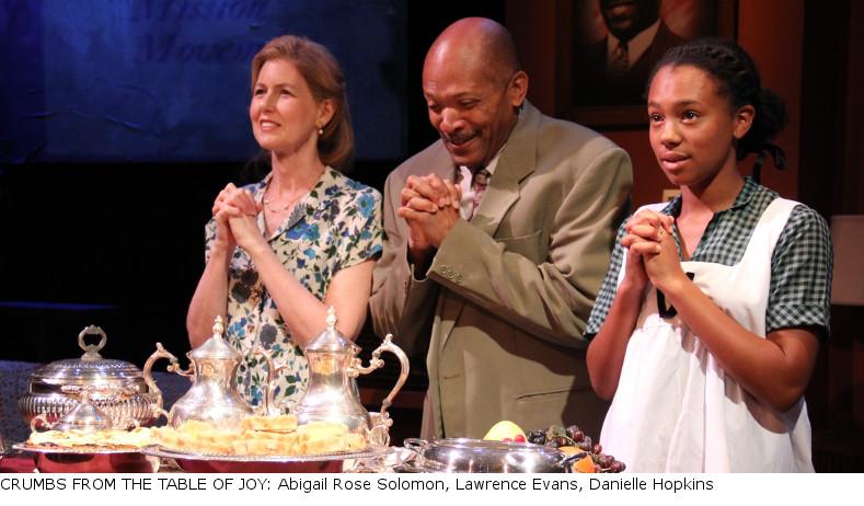 Abigail Rose Solomon, Lawrence Evans, Danielle Hopkins-Caption