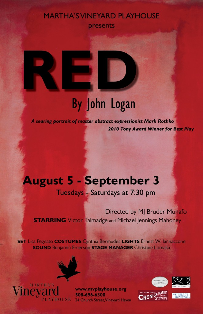 RED poster