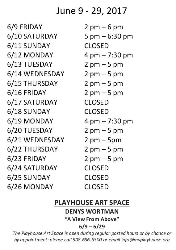 Hours - June 9-29