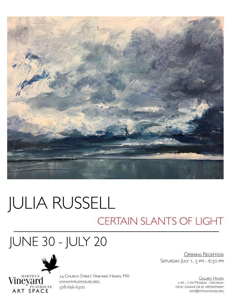 Julia Rusell ArtSpace Flyer