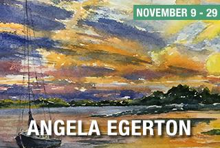 Angela Egerton Art November