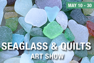 Seaglass and Quilts