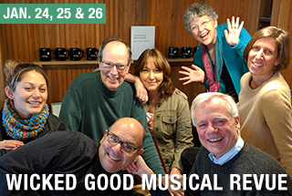 Wicked Good Musical Revue, January 2020