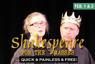 Shakespeare for the Masses 2020