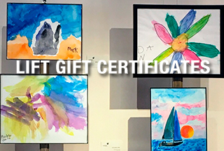 LIFT Gift Certificates